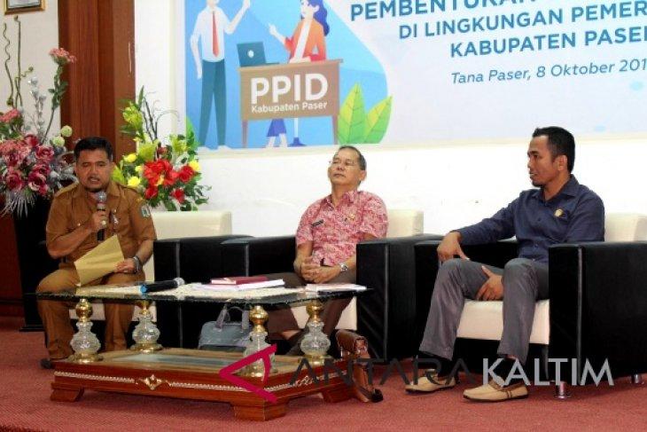 Paser gelar sosialisasi pembentukan  PPID pembantu