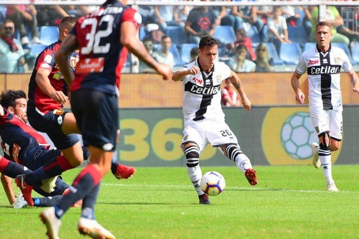Sempat tertinggal, Parma bangkit untuk libas Genoa