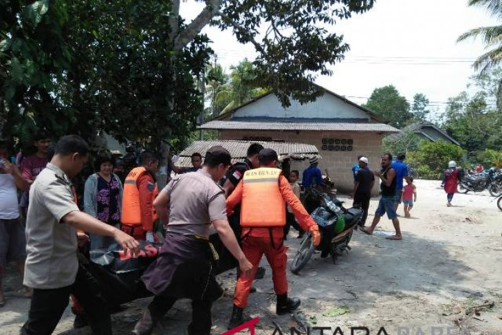 Tim SAR Pangkalpinang temukan korban tenggelam