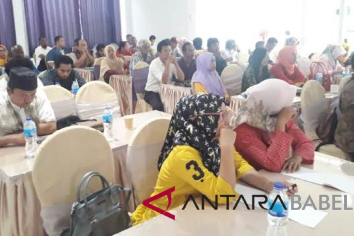 Kesbangpol Babel workshop politik di empat daerah