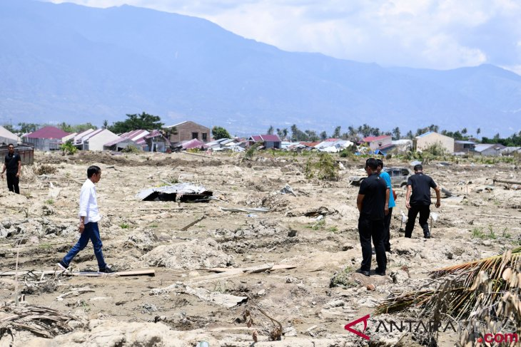 Earthquake swallows Petobo`s 180-ha residential area, 202 ha in Sigi