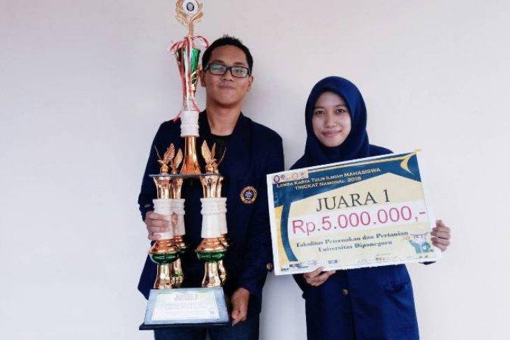 Berkat bubur MORA, mahasiswa IPB ini juara pertama