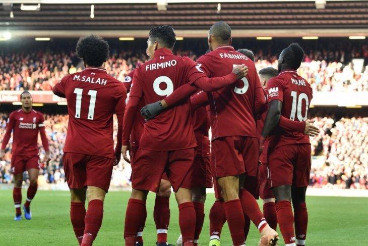 Hasil dan klasemen Liga Inggris, Liverpool ke puncak lagi