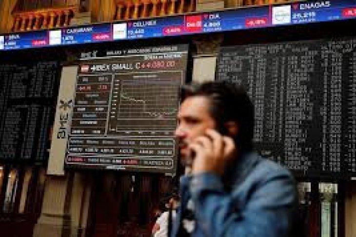 Saham Spanyol ditutup di zona merah, indeks IBEX 35  jatuh 0,20 persen