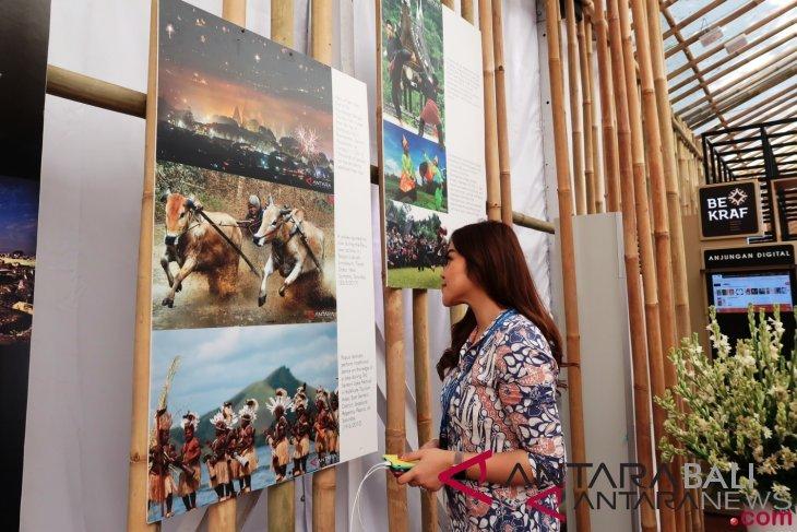 Antara pamerkan karya foto di Paviliun Indonesia