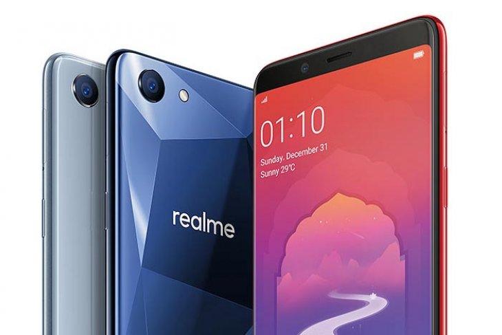 Smartphone Realme Masuk Pasar Indonesia