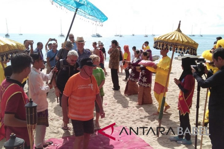 Wonderfull Sail Bangka Belitung dikunjungi enam negara asing