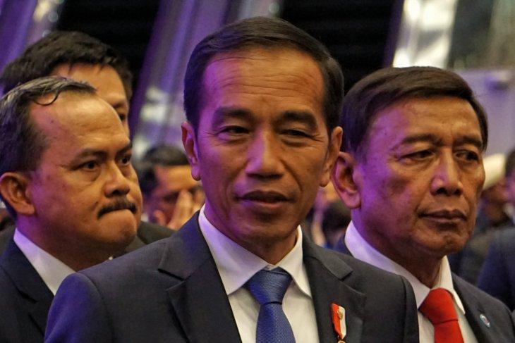Presiden Sampaikan Selamat HUT Perum LKBN ANTARA