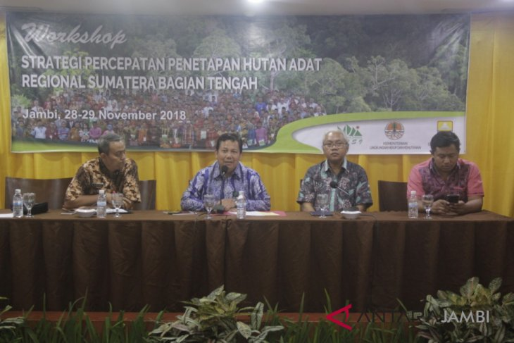KLHK: perlu sinergi semua pihak wujudkan pengelolaan hutan adat