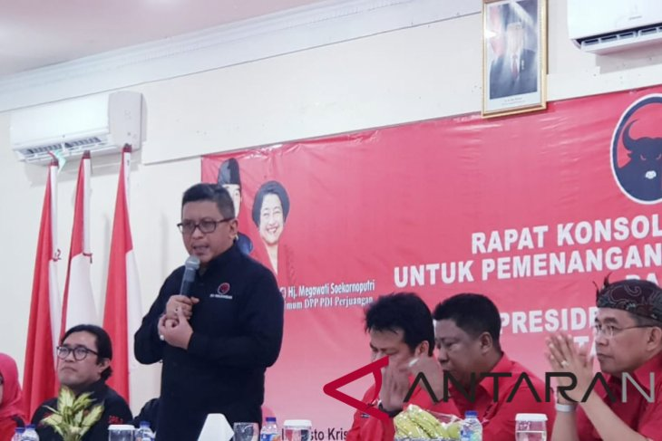 PDIP convinced of Jokowi-Ma`ruf pair victory in presidential race