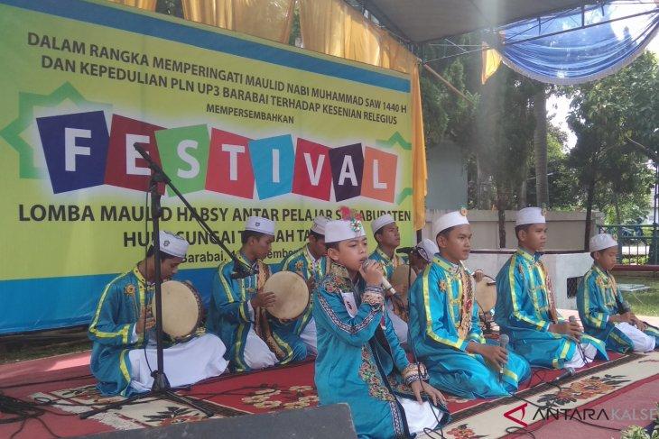 PLN Area Barabai gelar festival lomba Habsyi antar pelajar se-HST