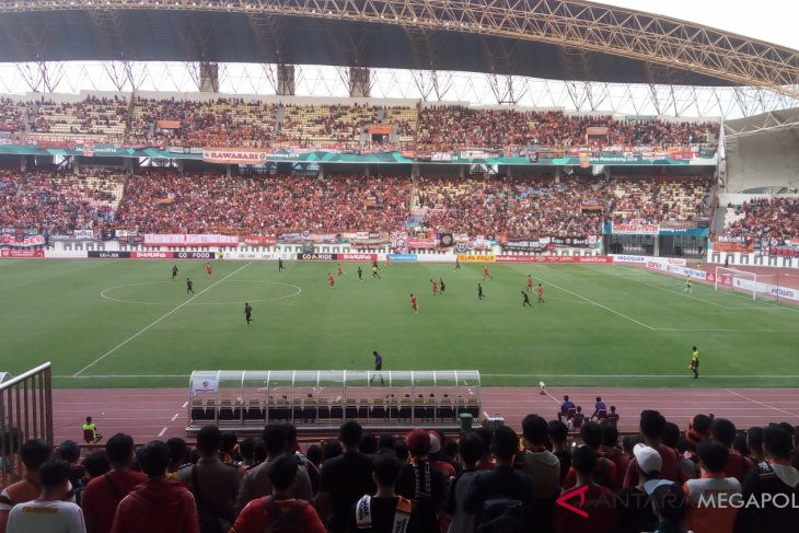 Persija menang tipis 3-2 atas Sriwijaya