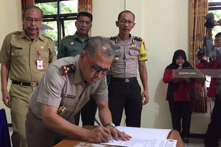 BPN Kota Batu Deklarasikan Zona Integritas Bebas Korupsi