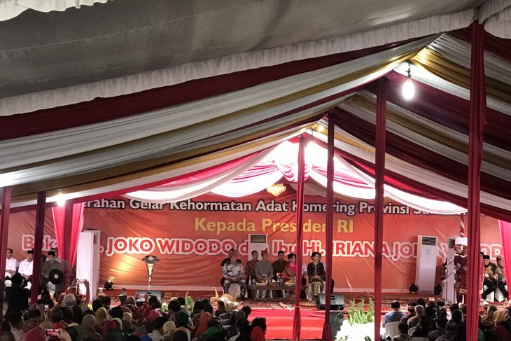 President popularizes village funds in Palembang