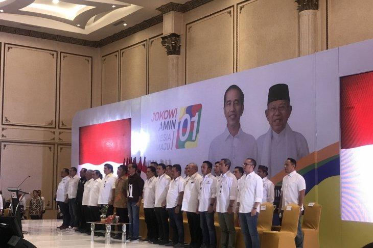 Jokowi confirms South Sumatra  regional campaign team