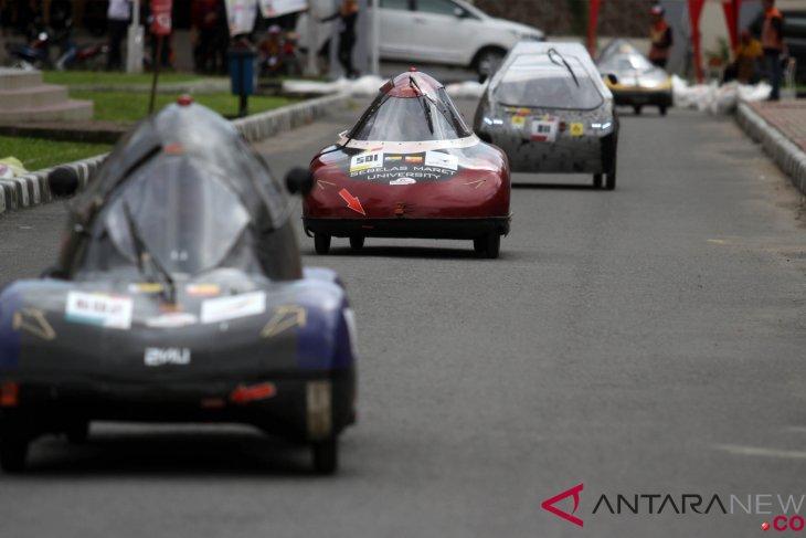 Urban electric car of Muhammadiyah Malang Univ breaks Asian record