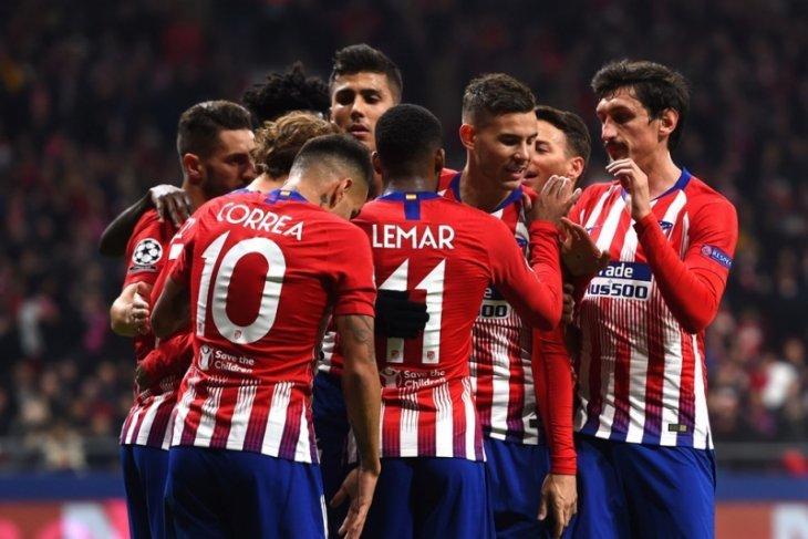 Hasil dan klasemen Grup A, Atletico melaju bersama Dortmund