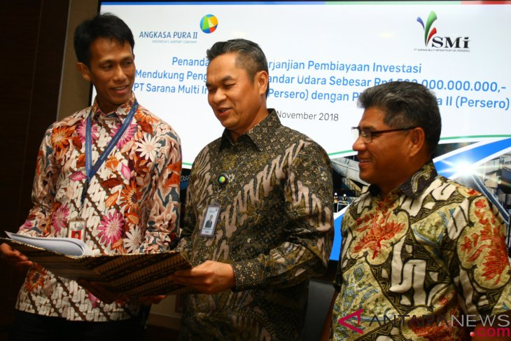 AP II, SMI  sign investment loan agreement worth Rp1.5 trillion
