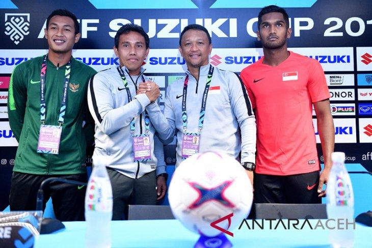 Bima prediksi laga Indonesia versus Singapura ketat