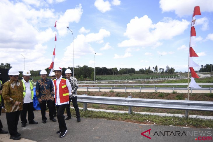Bakauheni-Kotabaru toll road segment ready for use