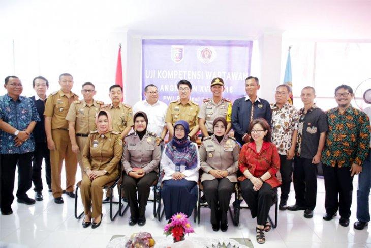 Pemprov Lampung Mendukung PWI Tingkatkan Kompetensi Wartawan Melalui UKW