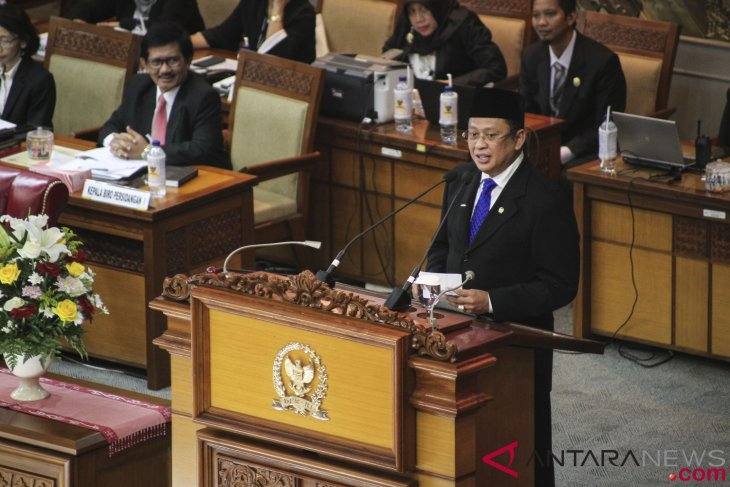 Fake news on marked ballots aimed at destabilizing Indonesia: Speaker