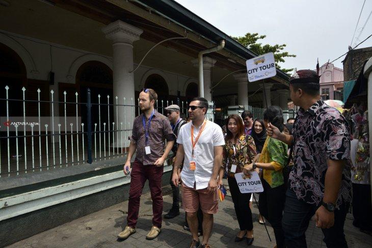 Delegasi SNS Kunjungi Wisata Religi di Surabaya