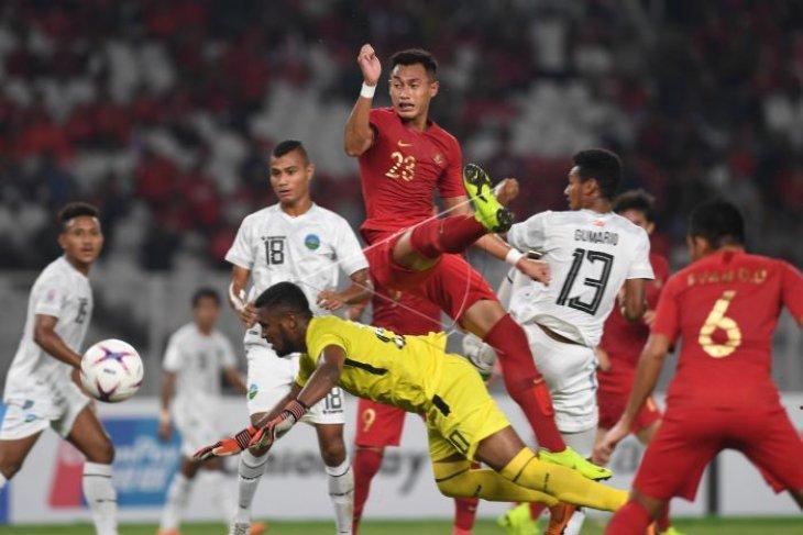 Timnas Indonesia bungkam Timor Leste 3-1