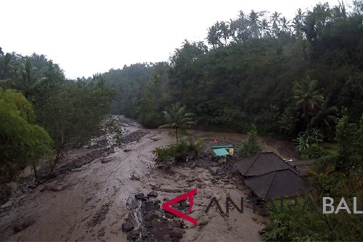 PDAM Klungkung Rampungkan Perbaikan Pipa Terkena Lahar Hujan