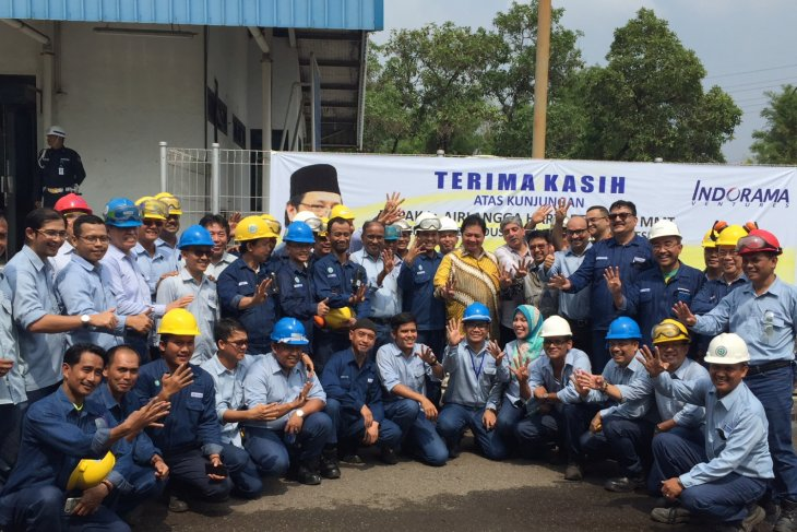 Industry minister inaugurates 30-MW power plant in Cilegon