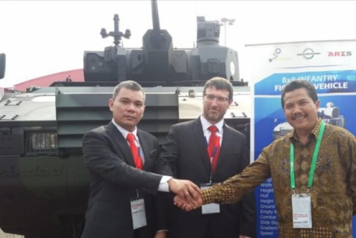 Pindad introduces latest armored car in cooperation with CSG