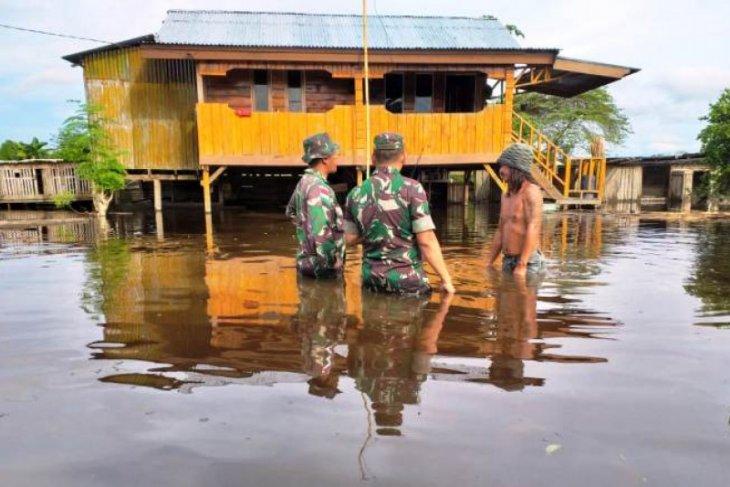 Sebagian wilayah Keerom banjir