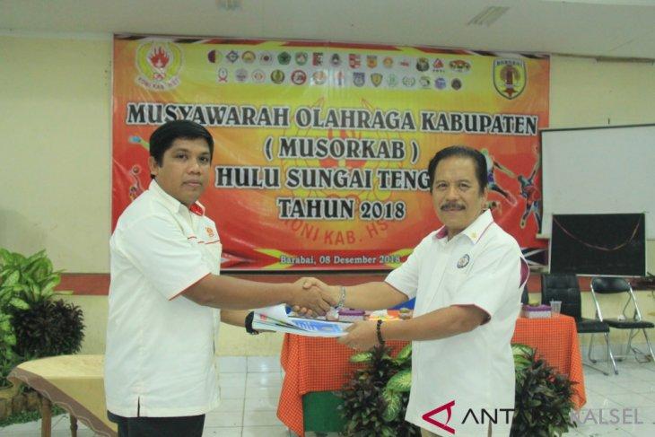 Pemilihan Ketua KONI HST: Dharmanto kalah Tiga suara dari Yazid