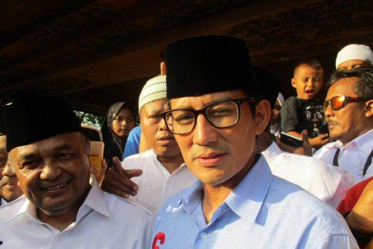 Di Blitar, Calon Wakil Presiden Sandiaga Ziarah ke Makam Bung Karno
