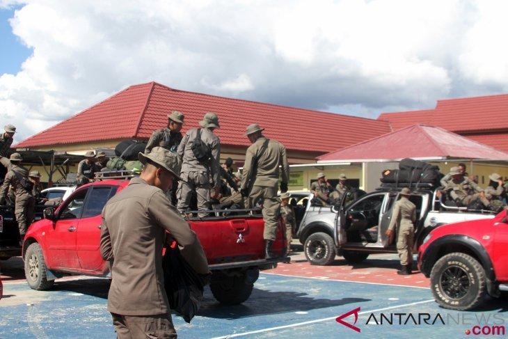 Aparat keamanan mengambilalih Markas KNPB Wilayah Timika
