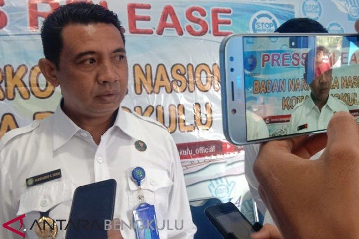 65 persen penduduk di Kota Bengkulu rentan terpengaruh narkoba
