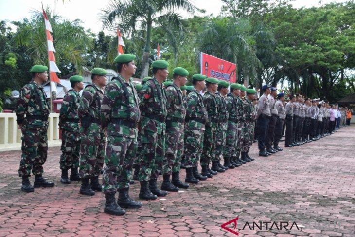 151 personel gabungan disiagakan amankan Natal di Gunungsitoli