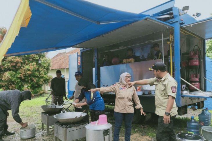 Pemprov Banten Dirikan Tujuh Dapur Umum Lapangan