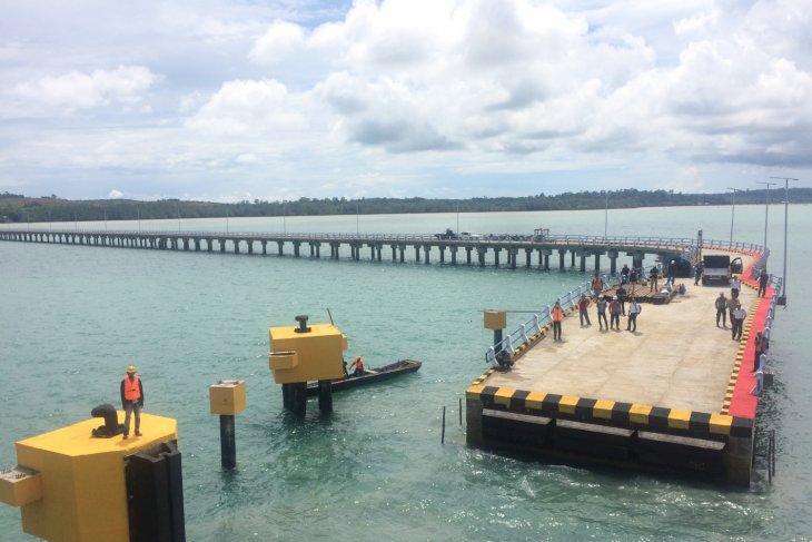 BPTD Kalsel tinjau pembangunan Dermaga di Kotabaru