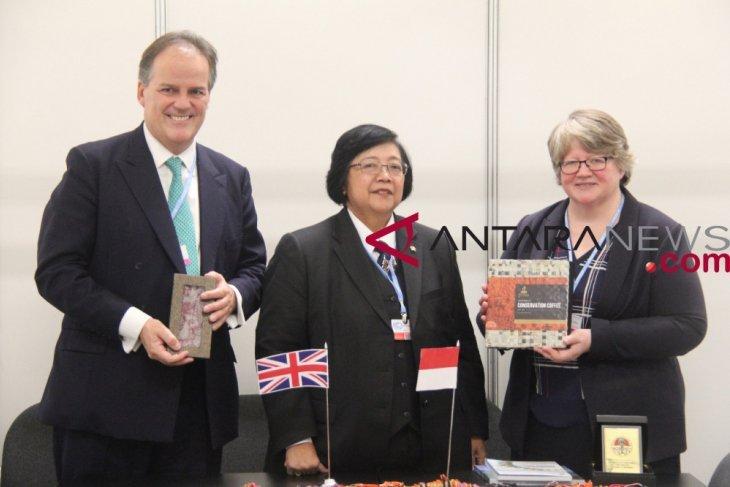 Indonesia-Inggris perkuat kerja sama sektor lingkungan hidup