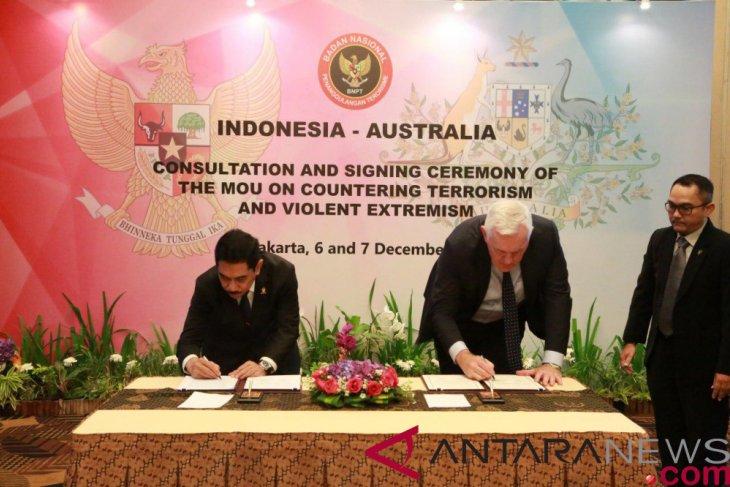 Indonesia, Australia extend counterterrorism cooperation agreement
