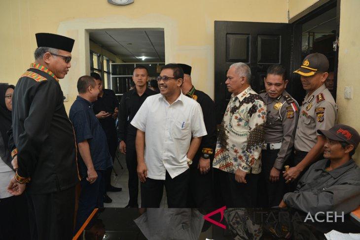 Gubernur Tinjau Kantor Samsat Aceh Tengah Antara News Aceh