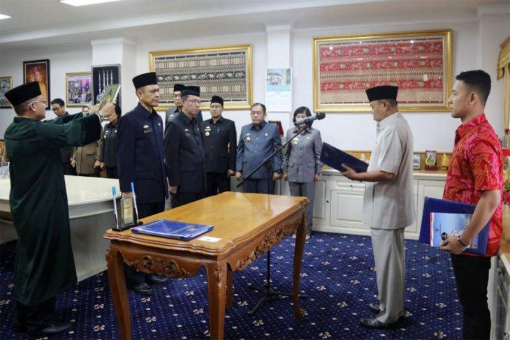 Wagub Lampung Bachtiar Basri Lantik Taufik Hidayat dan Fachrizal Darminto Sebagai Pejabat Pimpinan Tinggi Pratama
