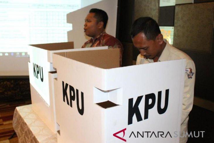 KPU Kota Medan optimistis penuhi target partisipasi pemilih
