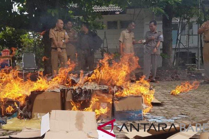 Disdukcapil Bangka Selatan hentikan sementara pelayanan e-KTP
