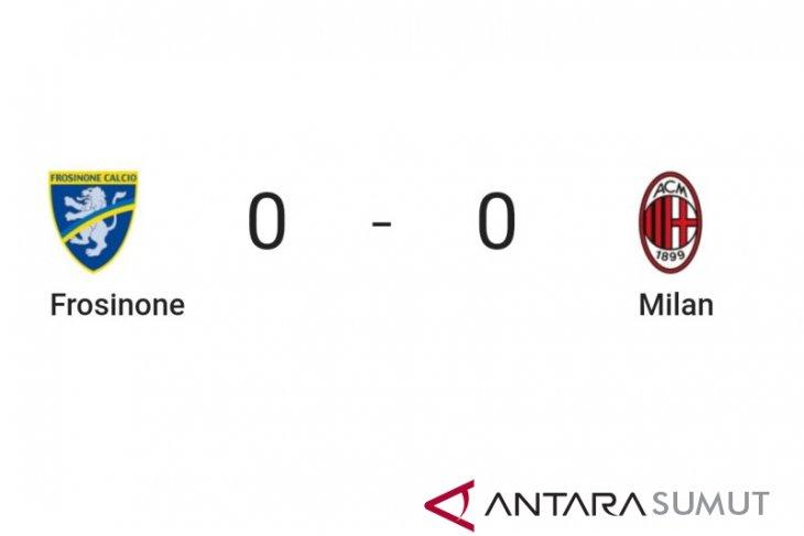 Milan gagal bawa poin penuh di kandang Frosinone