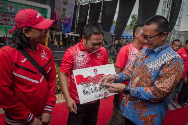 Peresmian sekolah khusus olahraga difabel Indonesia