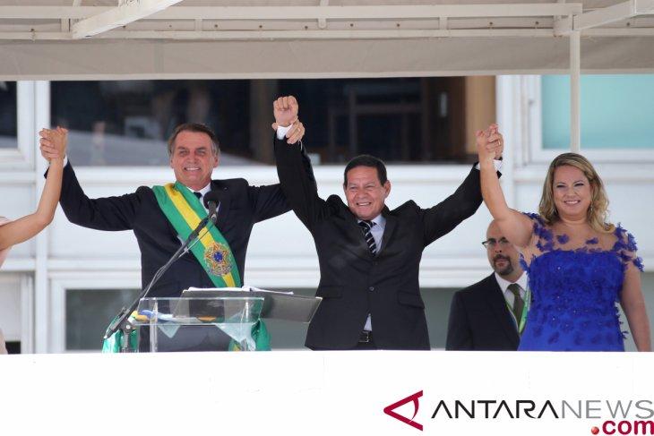 Wakil Presiden Brazil Mourao terkonfirmasi positif terkena virus corona