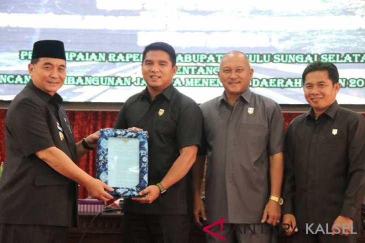 Bupati HSS sampaikan Raperda RPJMD tahun 2018-2023