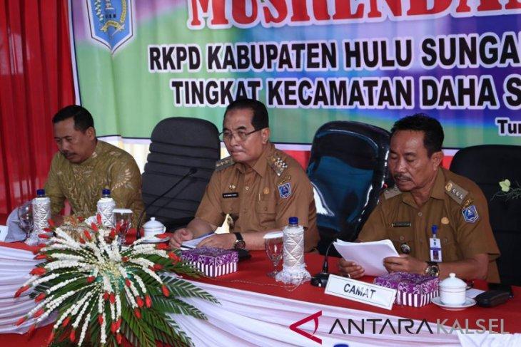 Bupati HSS buka Musrenbang RKPD Kecamatan Daha Selatan